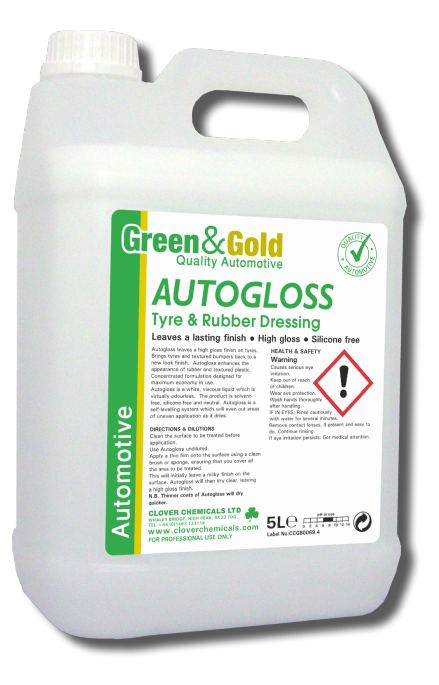 Clover Autogloss - Tyre and Rubber Dressing